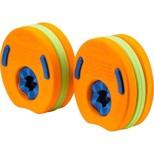 BECO Schwimmscheiben (6er-Set), Größe - in Orange/Grün/Blau