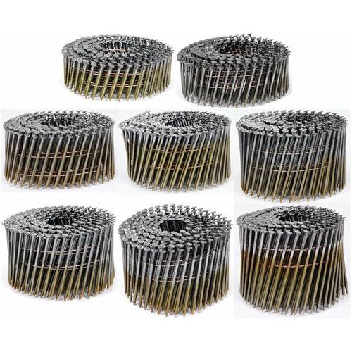 Vorel Drahtgebundene Coilnägel Spulennägel 32-90 mm 3000 - 7200 Stk 64 x 2,5 mm (3000 Stk.)
