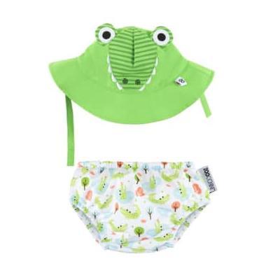 Zoocchini - Baby Alligator Hat Costume Set - 3-6 mesi