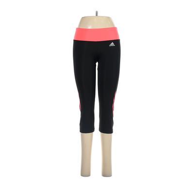 Adidas Active Pants - Low Rise: Black Activewear - Size Medium