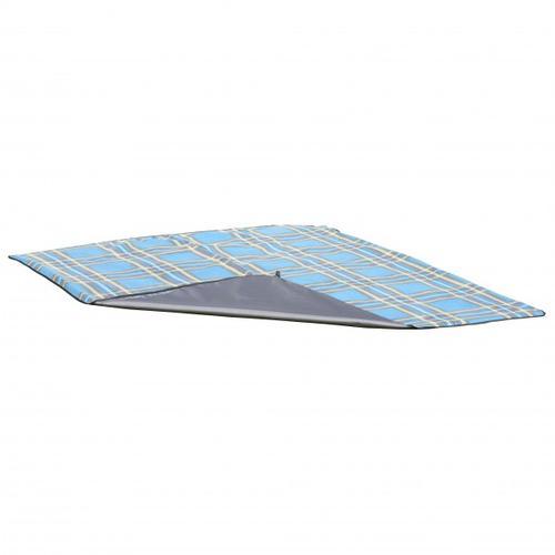 Uquip - Scotty - Picknickdecke Gr 150 x 120 cm grau