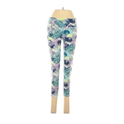 VSX Sport Active Pants - Mid/Reg Rise: Teal Activewear - Size Medium