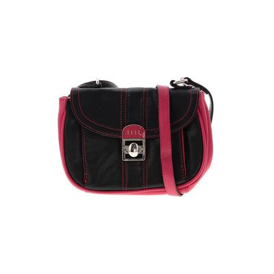 Elle - Elle Crossbody Bag: Black Solid Bags