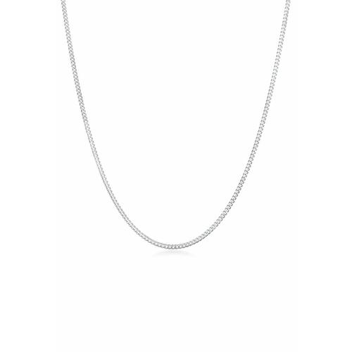 Halskette Panzerkette Basic Chunky Chain 925 Silber Elli Silber