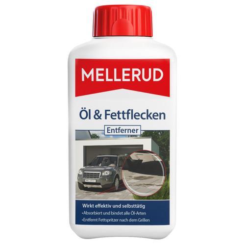 Öl- & Fettflecken Entferner 500 ml Estrich Keramik Pflaster Naturstein - Mellerud