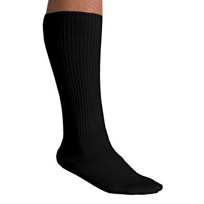 Diabetic Over-The-Calf Socks by KingSize in Black (Size 2XL)