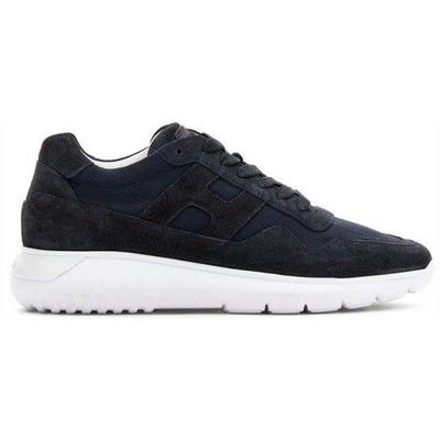 Interactive Man Blu - Black - Hogan Sneakers