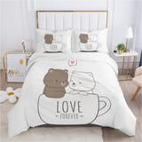 Parure de lit confortable pour e...
