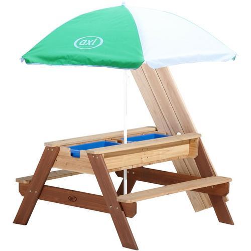 Sand-/Wasser-Spieltisch Nick mit Sonnenschirm - AXI