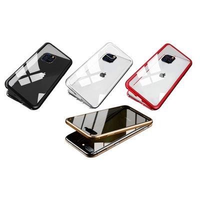 Coque de protection magnétique iPhone : X-XS / Rouge