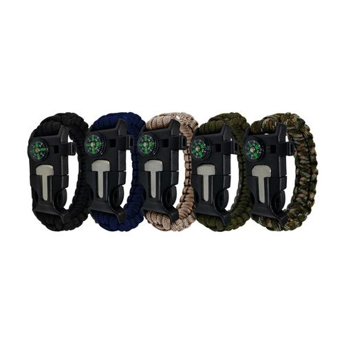 Survival-Armband: 2/ Khaki