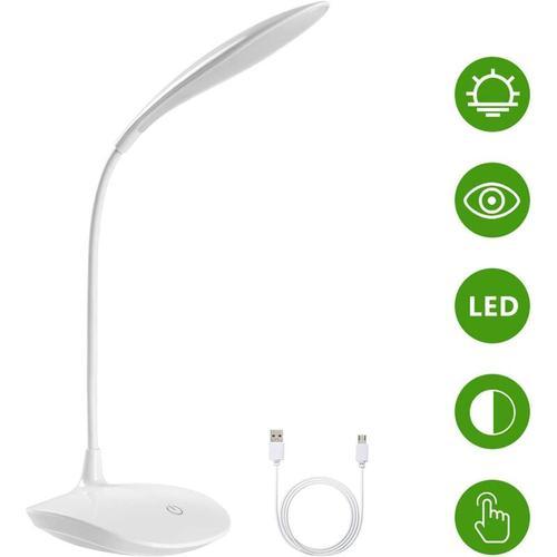 LED-Schreibtischlampe, USB-Schreibtischlampe, Bürolampe, LED-Leselampe, Schreibtischlampe für