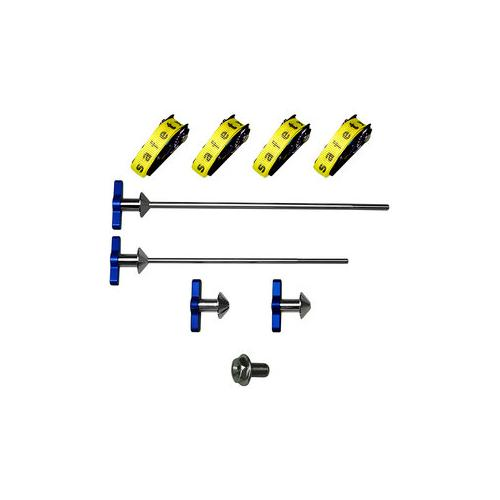 AXfix Transportsicherungssysteme für Motorräder mit Hohlachsen