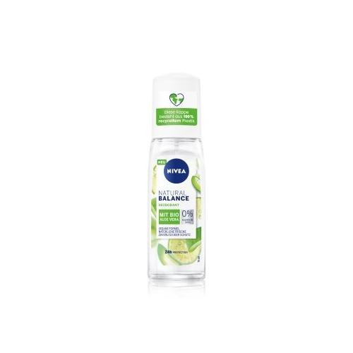 NIVEA Natural Balance Bio Aloe Vera Deodorant Spray 75 ml