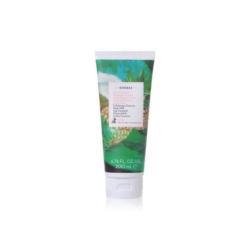 Korres Pineapple Coconut Body Milk 200 ml