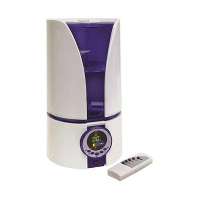 Comfort Zone White Comfort Zone 1.1 Gallon Ultrasonic Cool Mist Humidifier