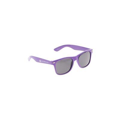 Sunglasses: Purple Solid Accesso...