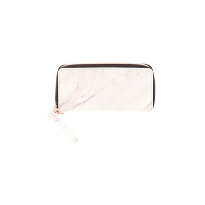 Assorted Brands Wristlet: Gray Solid Bags