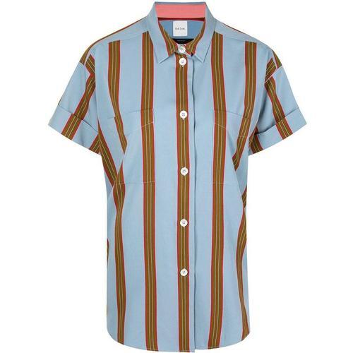 Paul Smith Hemd mit breiten Streifen
