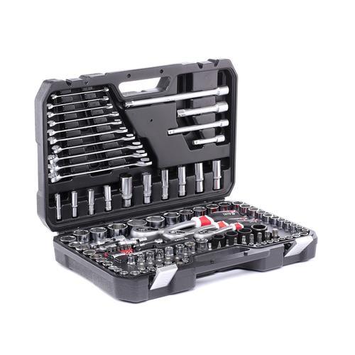 YATO Werkzeugset YT-38801 Werkzeugsatz,Steckschlüsselsatz,Werkzeug Set,Werkzeug Kit