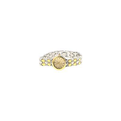 Assorted Brands Watch: Gold Accessories