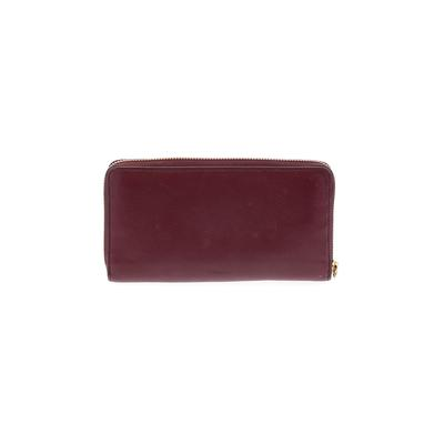 Fossil - Fossil Leather Wallet: Burgundy Solid Bags