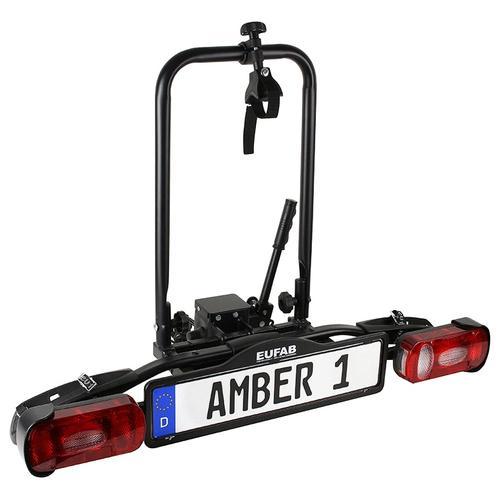 EUFAB Kupplungsfahrradträger AMBER I schwarz Fahrradträger Autozubehör Reifen