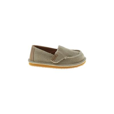 The Children's Place - The Children's Place Sneakers: Tan Solid Shoes - Size 8