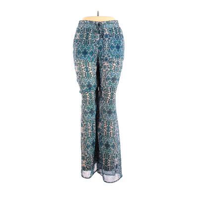 Show Me Your Mumu Casual Pants - High Rise: Blue Bottoms - Size Large