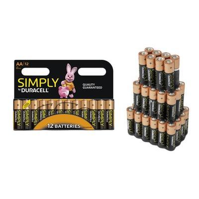 Duracell Batteries: 24 AAA
