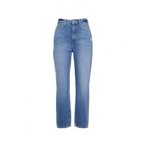 Guess Damen Jeans Len Blau