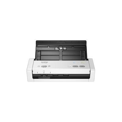 Brother ADS-1250W Wireless Compact Desktop Scanner - 48-bit Color - 25 ppm (Mono) - 25 ppm (Color) - Duplex Scanning - USB - BRTADS1250W