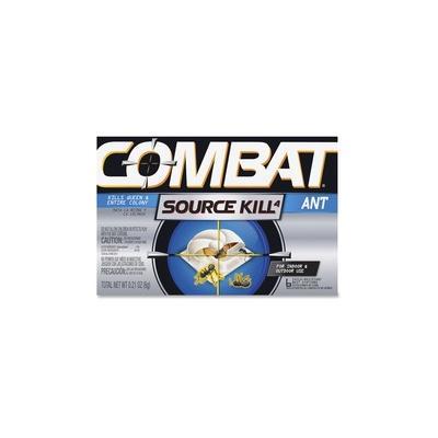 Combat Bait Stations Ant Killer - Ants - 0.21 oz - Black, Silver - 6 / Box - DIA45901