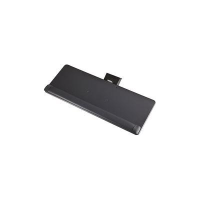 """""""Safco Knob-Adjustable Keyboard Platform - 0.4"""""""" Height x 25"""""""" Width x 9.5"""""""" Depth - Black - 1 - SAF2133BL"""""""