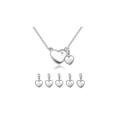 Halskette mit echtem Diamanten: Mum