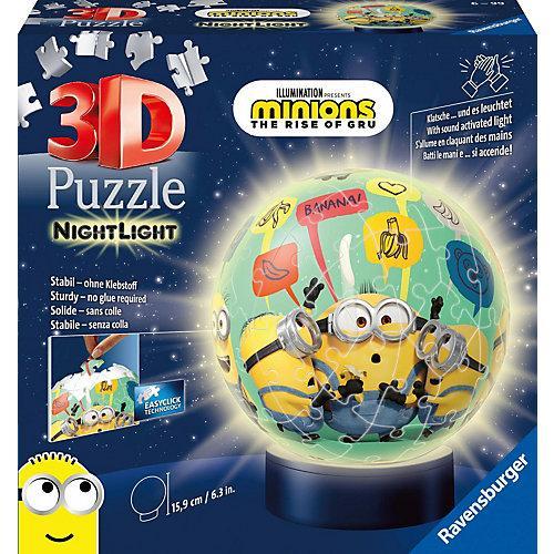 Puzzle Nachtlicht - Minions 2, 72 Teile