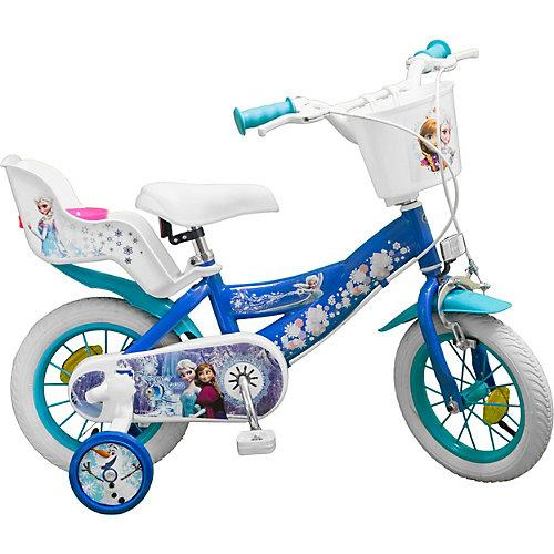 Fahrrad 12 Zoll Disney Eiskönigin blau/weiß