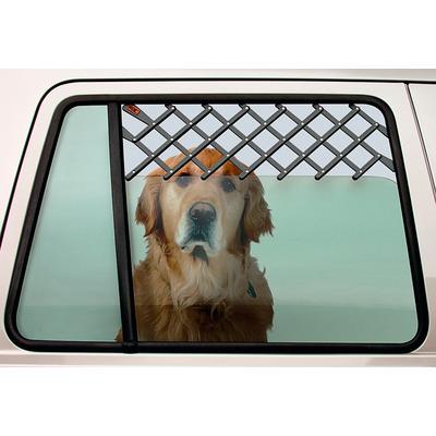 HEIM Tierabsperrgitter, Kunststoff, Montage ohne Bohren und Schrauben, max. Breite: 60 cm grau Tierabsperrgitter Hundetransport Hund Tierbedarf