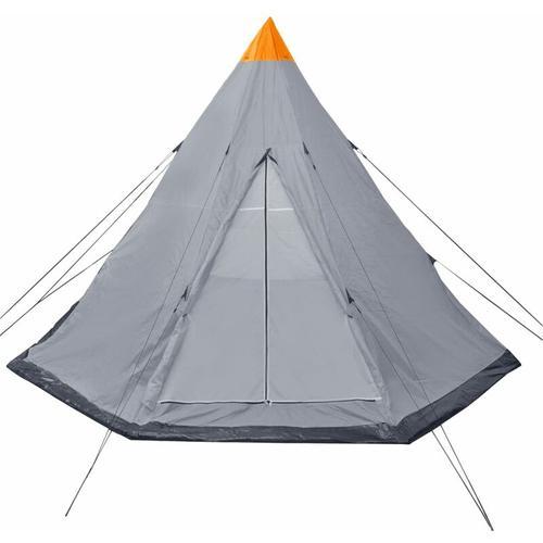4-Personen-Zelt Grau