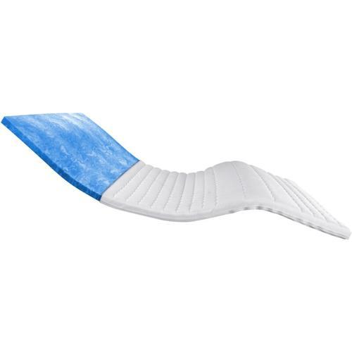 Am Qualitätsmatratzen - Premium Plus Gelschaum-Topper   180x220 cm   8 cm Höhe  Bezug aus TENCEL™