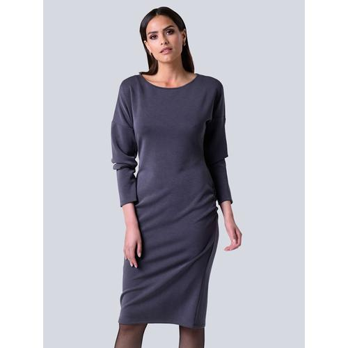Alba Moda, Kleid aus formstabilem Jersey, grau