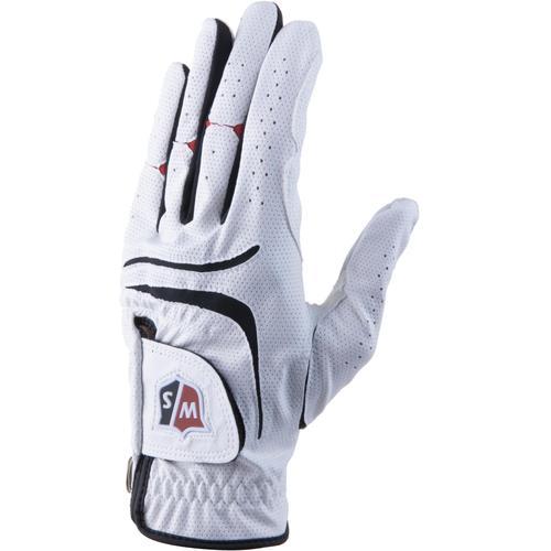 Wilson Staff Grip Plus 3G Pack Fingerhandschuhe Herren in weiß, Größe M