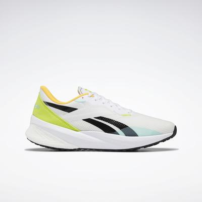 Reebok Men's Floatride Energy Daily Running Shoes in Pure Grey 1/Pixel Mint/Acid Yellow Size 12 - Running Shoes