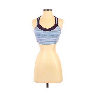 Lululemon Athletica Sports Bra: Purple Color Block Activewear - Size 6