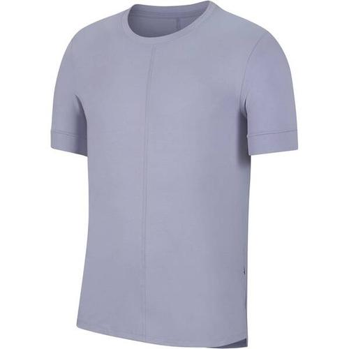 NIKE Herren Yoga T-Shirt Nike Yoga Dri-Fit, Größe S in Grau