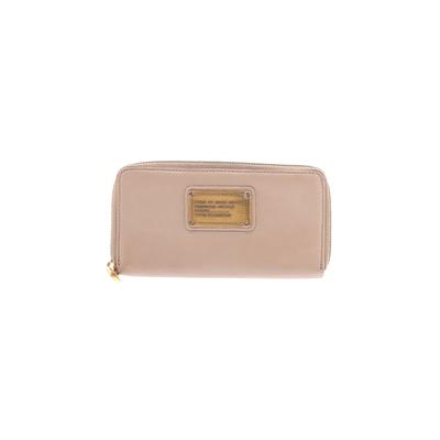 Marc by Marc Jacobs Leather Wallet: Tan Solid Bags