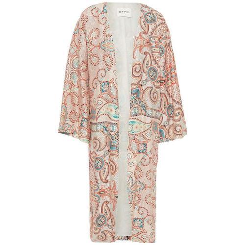 Etro Bedruckter Kimono Aus Seide