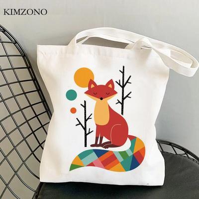 Fox – sac de shopping en coton, ...