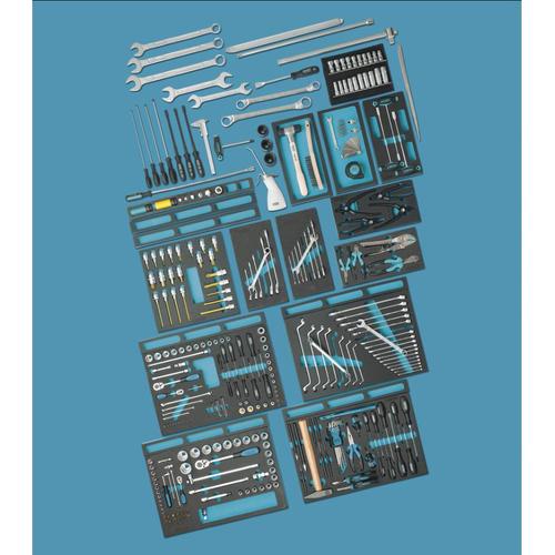 NEO TOOLS Werkzeugset 08-673 Werkzeugsatz,Steckschlüsselsatz,Werkzeug Set,Werkzeug Kit
