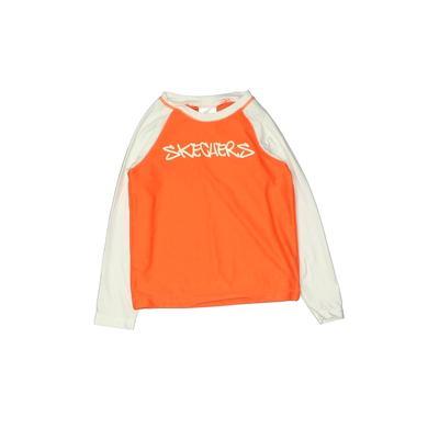 Skechers Rash Guard: Orange Soli...